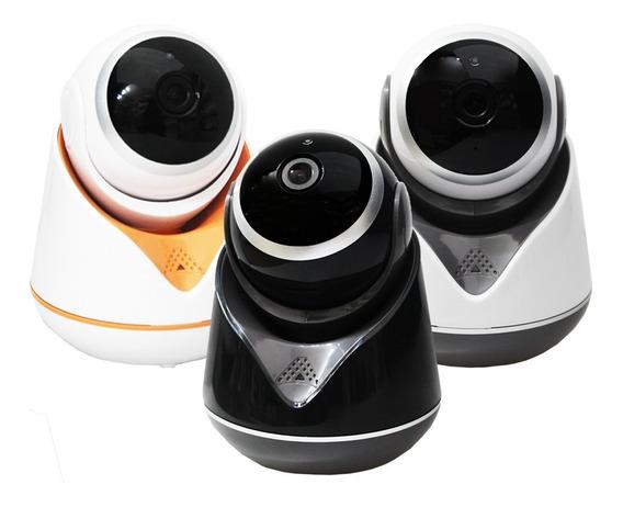 Mini Camera Segurança Wifi Hd 1080p Hz-357 Wireless Lp 360º