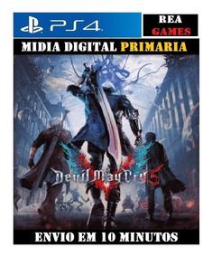 Devil May Cry 5 Ps4 - Original 1 Psn - Portugues