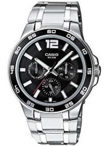 Relógio Masculino Casio Mtp-1300d-1a ( Saldo )