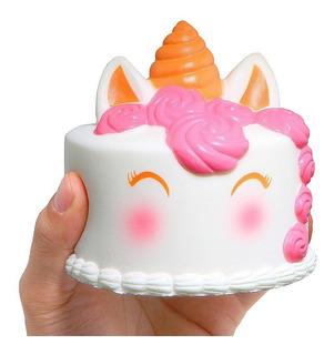 Squishy Torta De Unicornio Gigante 12 Cm