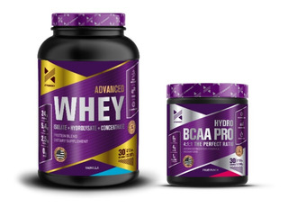 Xtrenght Advanced Whey Protein + Hydro Bcaa Pro + Shaker