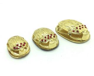 Escarabajos Set Pisa Papel Iman Figura Decorativa Amuleto