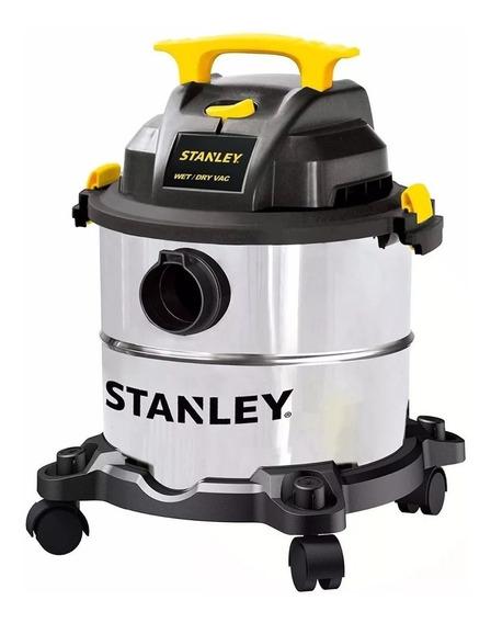 Aspiradora Portatil Stanley Acero Inox 23 Lt 1300w - Rex