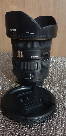 Lente Grande Angular Sigma Canon 10-20mm F/3.5 Ex