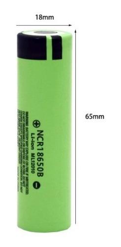 Imagen 1 de 4 de Bateria 18650 Litio Recargable 3400mah Ncr18650b Original