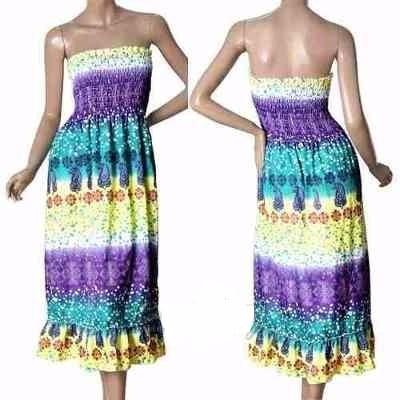 Vestido Straples Corto 2xl
