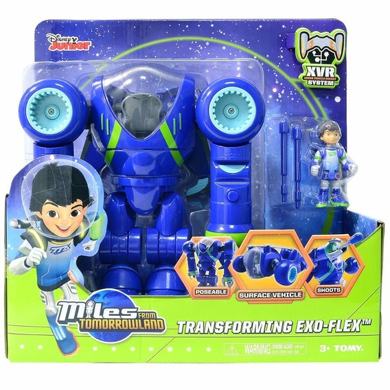 Boneco Miles From Tomorrowland Transforming Exo Flex Sunny