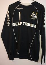 eaeee65821 Camisa Goleiro Santos Fc - Camisa Santos Masculina no Mercado Livre ...