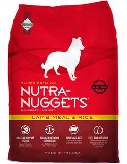 Nutra-nuggets Arroz Y Cordero 15k + 3 - kg a $14667