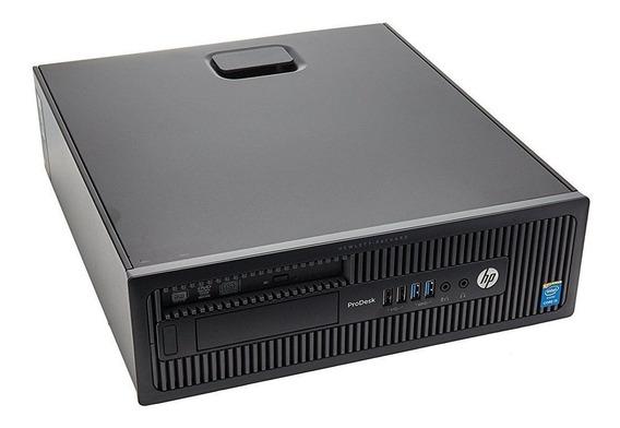Desktop Hp Elitedesk 600 G1 Hd 500 Intel Core I5 Completo Com Frete Grátis E Em Até 12x Sem Juros + Nf E Garantia