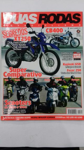 Revista Duas Rodas No. 371 Ano 32 Xtz250 Lander Cb400 Four