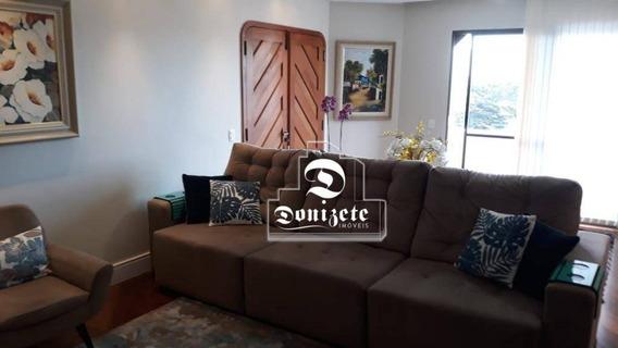 Apartamento Com 3 Dormitórios À Venda, 200 M² Por R$ 970.000,00 - Centro - Santo André/sp - Ap7454