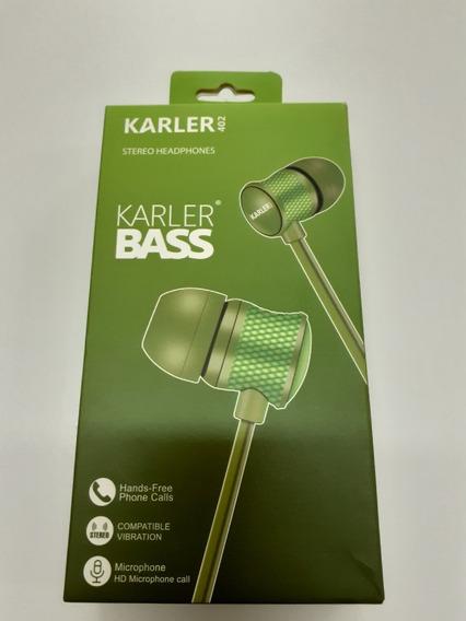 Auriculares Karler Bass