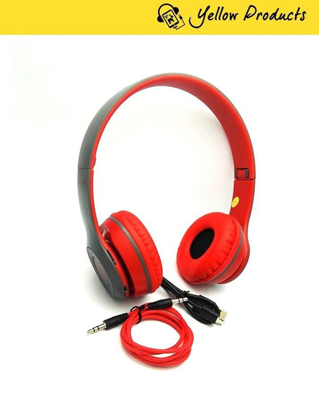 Fone De Ouvido Headphone Micro Sd Usb Fm Bluetooth P47