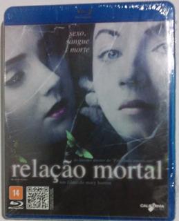 Blue Ray Filme Relação Mortal Sexo Sangue E Morte Novo