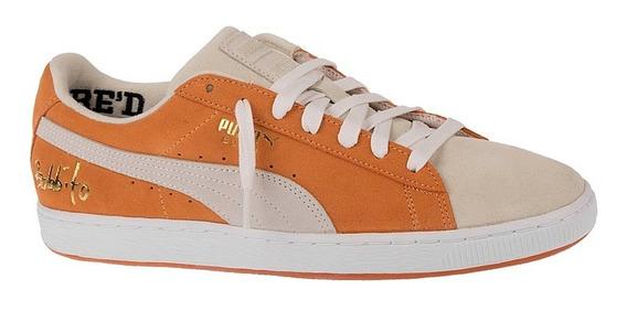 Tênis Puma Suede Classic X Bobbito Garcia Orange Original