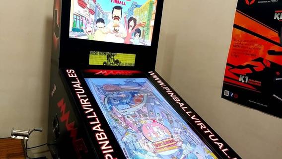 Virtual Pinballx Para 2 E 3 Telas