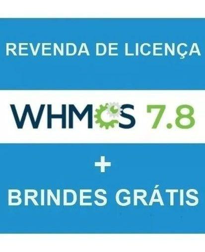 Whmcs 7.8.x + Instalação Grátis + Brindes
