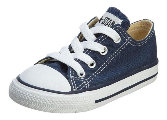 Tenis Converse- Choclo - Azul - Bebe - 7j237