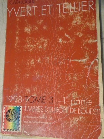 Catálogo Ivert. Europa Del Oeste.alemania A Grecia.oferta.
