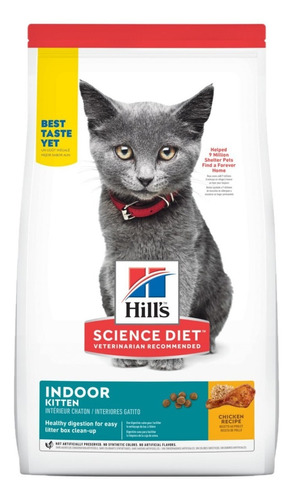 Alimento Hills Kitten Indoor Gato Gatito 1.6kg
