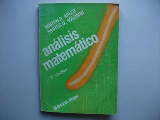 Análisis Matemático - 2° Volumen - Adler / Soldano - Macchi