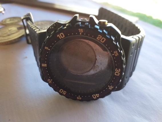 Relogio Antigo Casio Japan Aq 100w Caixa+pulseira Original