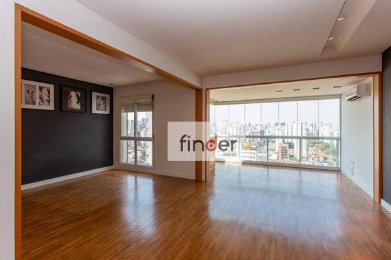Apartamento Em Conceito Aberto, Vista Livre, Com Varanda, 1 Dormitório À Venda, 61 M² Por R$ 1.350.000 - Leopoldo, 695 No Itaim Bibi - São Paulo/sp - Ap12961