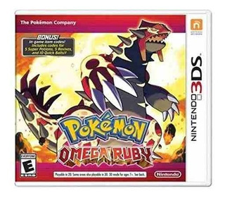 Nintendo Pokemon Omega Ruby 3ds