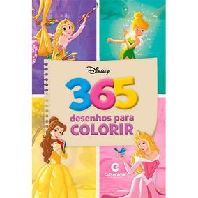 365 Desenhos Para Colorir - Meninas Livro Culturama Frete 9