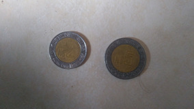 Moneda 5 Nuevos Pesos 1992 Y Moneda 2 Nuevos Pesos 1993