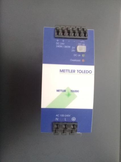 Fonte Qs10-241-10 Mettler Toledo Saída 24-28v 10-9a