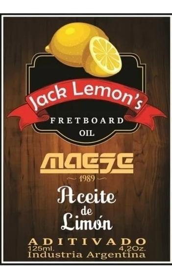 Aceite De Limón Para Diapasón - Jack Lemon