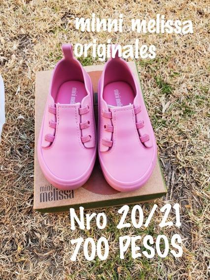 Zapatitos Mini Melissa Originales Ulitsa Sneaker Nro 20/21