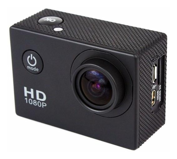 Câmera Filmadora Full Hd Esportes Capacete Prova D