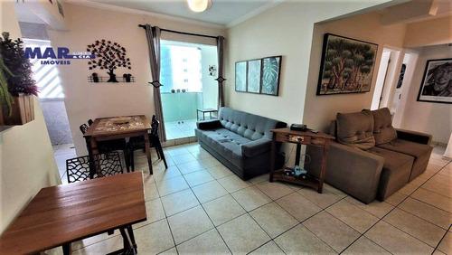 Imagem 1 de 13 de Apartamento À Venda Na Praia Das Pitangueiras Em Guarujá - 70 Metros Úteis - 2 Dormitórios - Sacada - 1 Vaga De Garagem - Ap11193