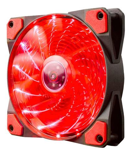 Fan Cooler Ventilador Marvo Para Gabinete Gamer 12cm Luz