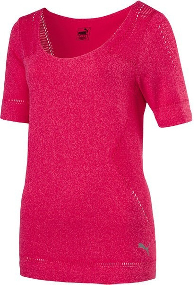 Remera Deportiva Puma Mujer Evo Knit Tee Dry Cell
