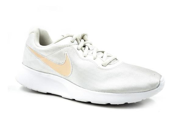 Nike Tanjun Gs Blnaco Perla-dorado Mujer 844908103/ Remate
