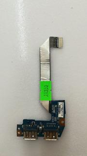 Placa Usb Notebook Toshiba P/n: Ls-6853p Nb500 Nb505