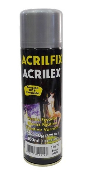Verniz Spray Fosco Acrilfix Acrilex (300 Ml)