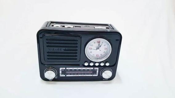 Caixa De Som Bluetooth Altomex A6199 Radio Usb Am Fm 3bandas