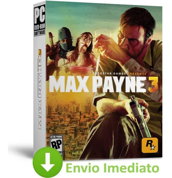 Max Payne 3 Pc Complete Edition Todas Dlcs Brinde Envio 2019