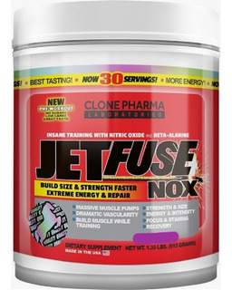 Jetfuse Nox 615g Clone Pharma Exotic Fruit
