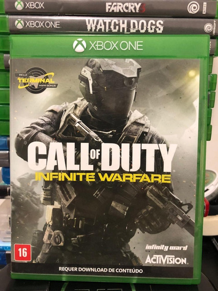 Jogo Xbox One Call Of Duty Infinite Warfare Mídia Física