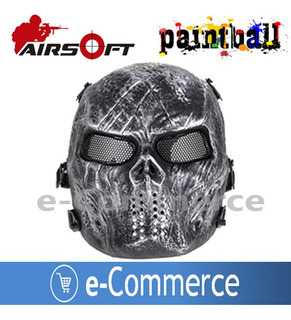 Mascara Paintball Airsoft Tactica Deporte Halloween Cosplay