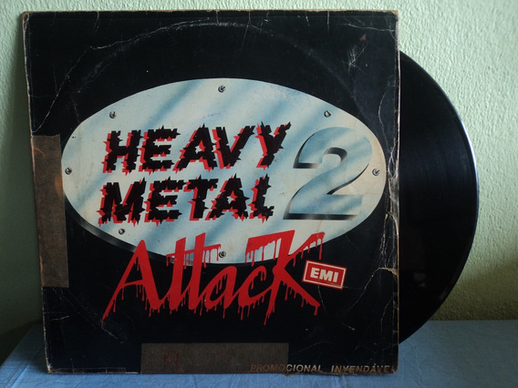 Lp/vinil-heavy Metal:attack 2:helix,iron Maiden,saxon,icon