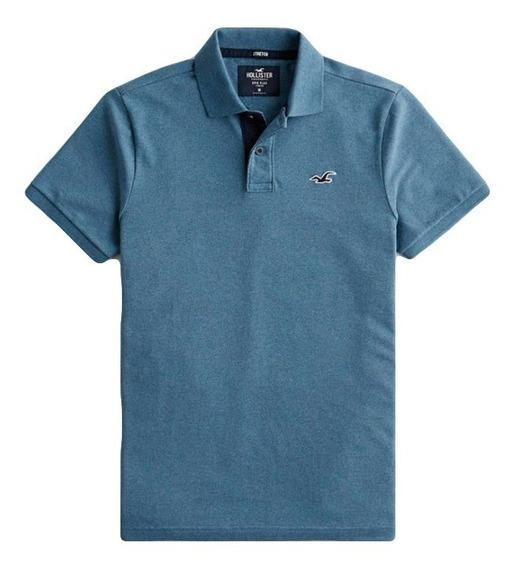Camiseta Hollister Polo Epic Flex Masculina 100% Original