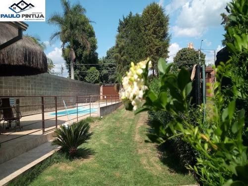 Linda Chácara No Parque Das Bandeira Indaiatuba - Ch00419 - 69384778