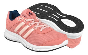 Tenis De Correr adidas Para Mujer Ba8111 Rosa Bco